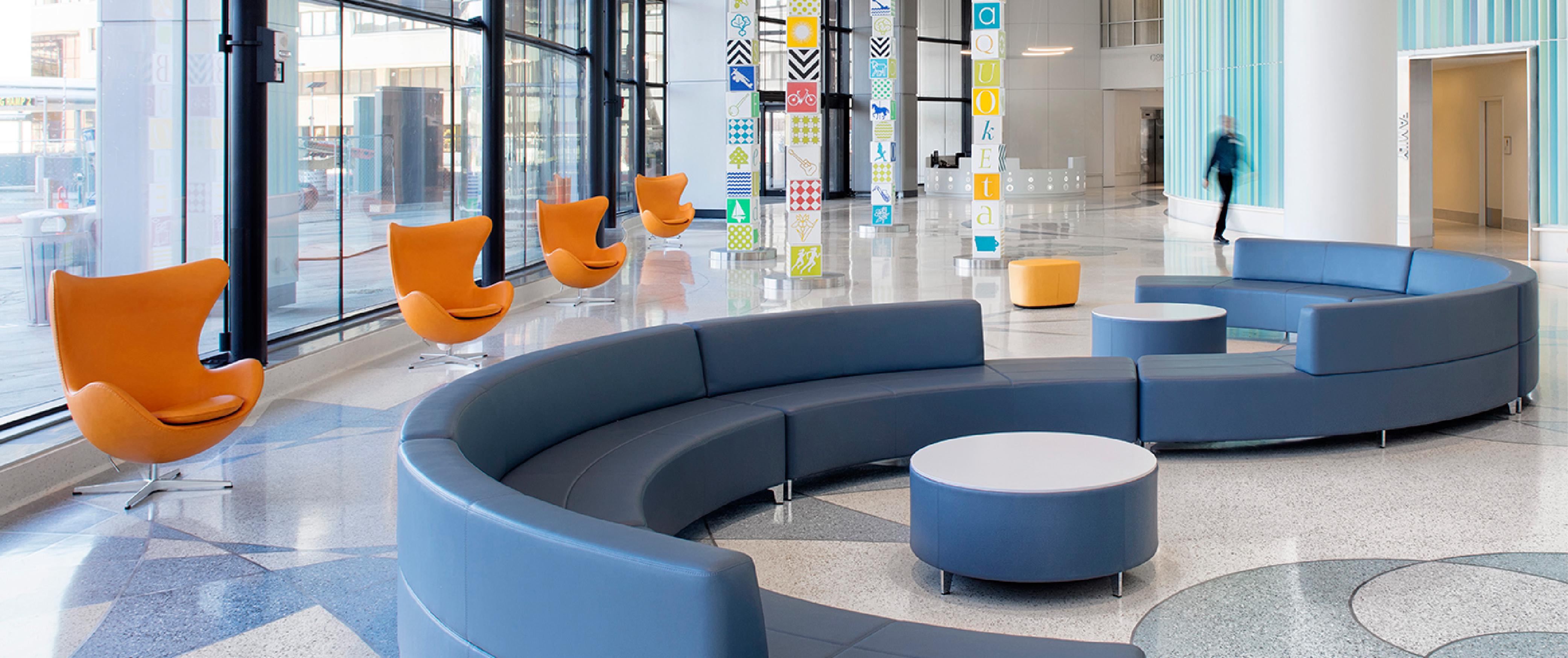 University of iowa stead family children 39 s hospital pigott - Iowa state university interior design ...