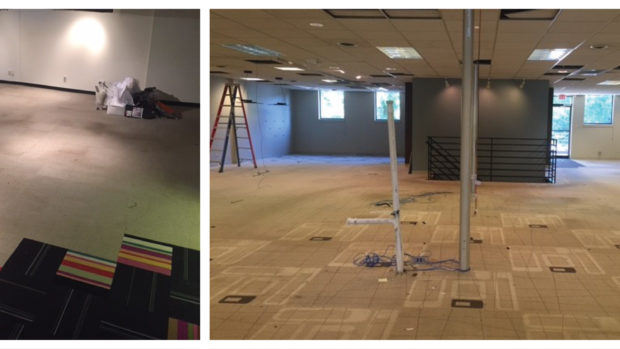 Empty Office Reporting for Renovation