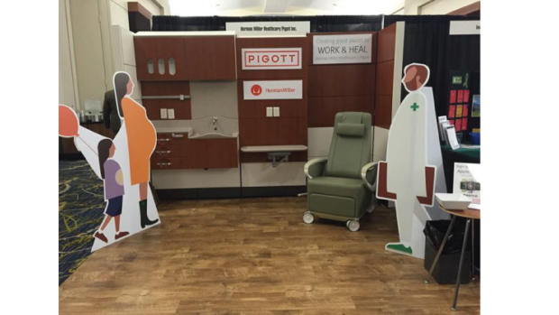 Pigott Attends Iowa Hospital Association's Annual Meeting
