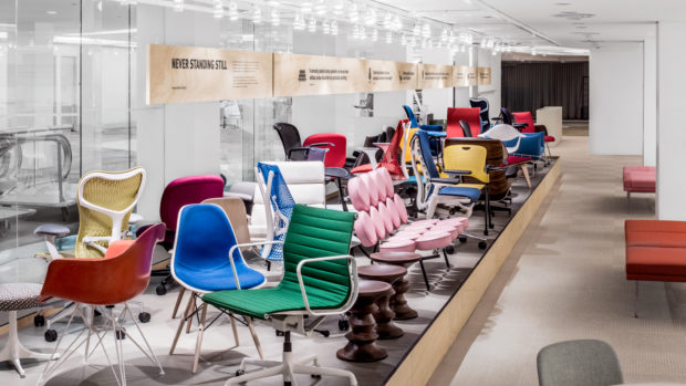 Herman Miller Again Recognized for Showroom Design at NeoCon 2015